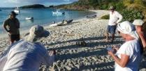 Finnish beach game