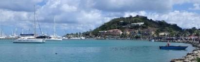 Marigot Bay, French side