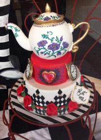 Gorgeous cake at Hampton bakery