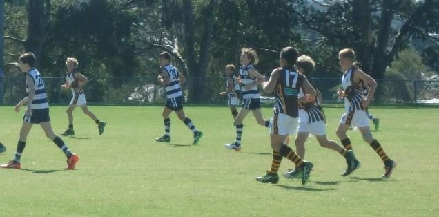 Saturday AFL footy game
