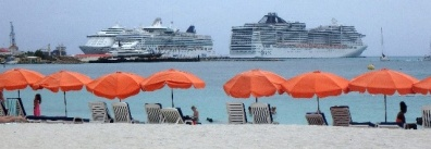 Cruise Ships, St Maarten