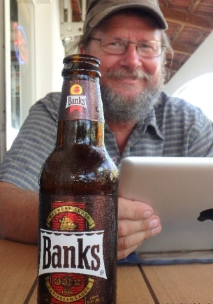Banks beer Antigua 2016