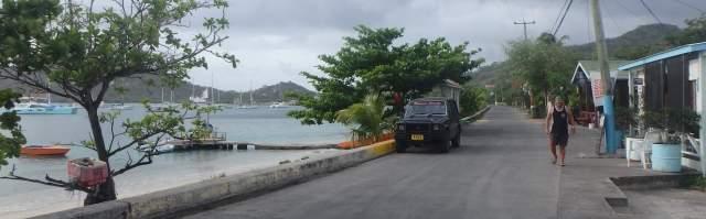 Downtown Tyrrel Bay, Cariacou
