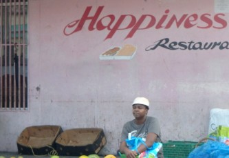 Happiness in Castries St Lucia