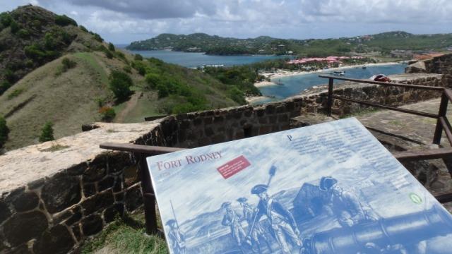 Fort Rodney on Pigeon Island, Rodney Bay, St Lucia