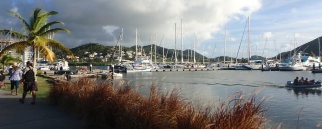 Rodney Bay Marina, St Lucia