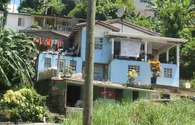 Typical Grenadian home