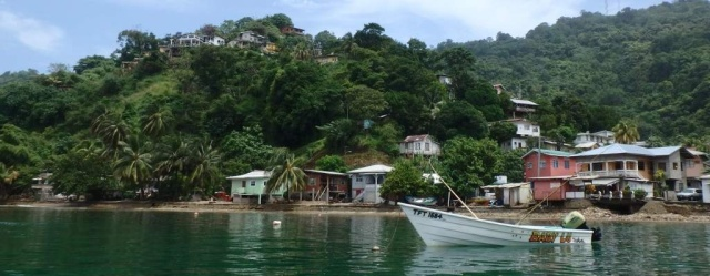 Charming fishing village, Charlotteville