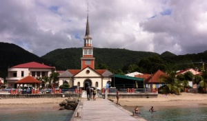 Wharf at Petit Anse D'Arlets