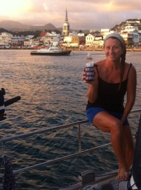 Cheers in Martinique