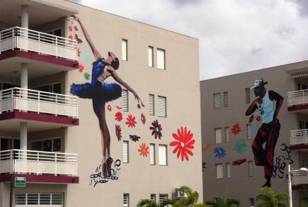 Modern apartment art