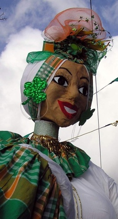 Pageant puppet