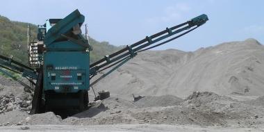 Sand is the export of Montserrat