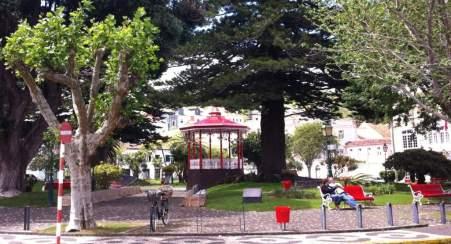 Park near mercado