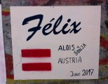Felix crossed one week before us