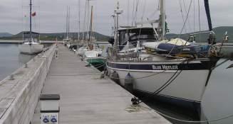 Knightstown free dock
