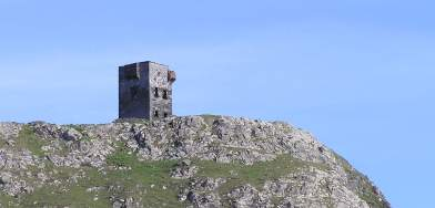One of many headland towers