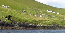Old stone ruins, Blasket Island