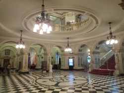 Marble foyer of City Hall
