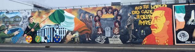 Belfast Falls Road Murals (3)