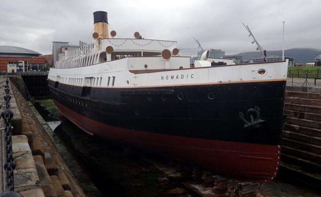 """Nomadic"" little sister of Titanic"