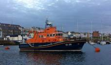 Lifeboat rescue vessel