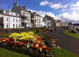 Pretty village of Portrush