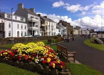 Pretty village of Portrush