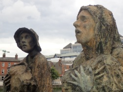 Famine sculptures