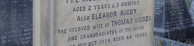 Grave of Eleanor Rigby at St Peters. Woolton
