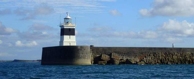 Holyhead Port lighthouse