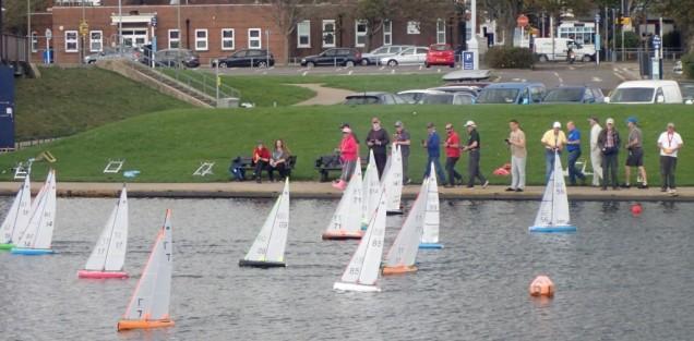 Safe sailing on Cockle Pond