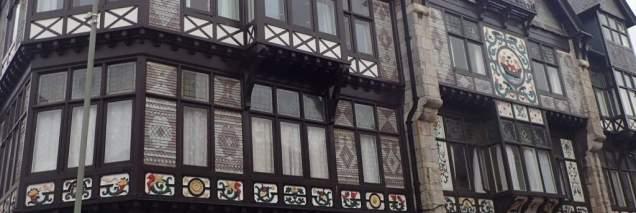 Intricate facades