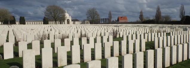 The fallen in France