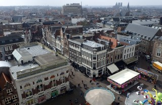 High above Haarlem