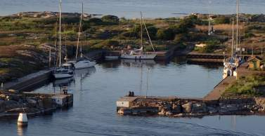 Utklippan harbour