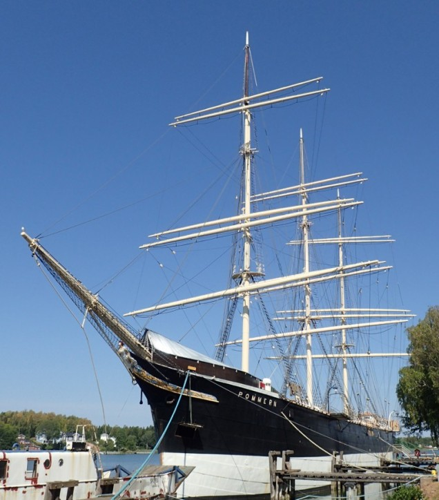 "Pommern: a ""Flying P"" windjammer"