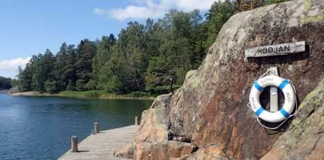 Small dock at Rodjan