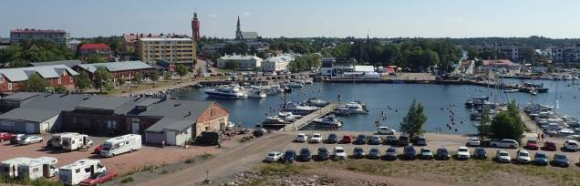 View of Hanko Harbour