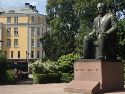 Kyösti Kallio - 4th President who died at the Railway Station