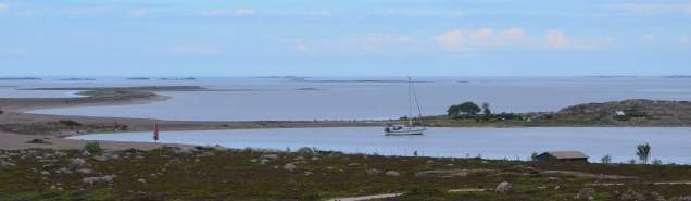 Barren anchorage at Jurmo