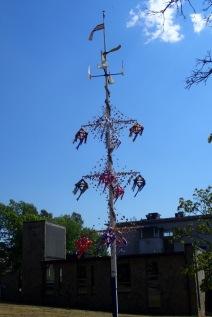May pole at Mariehamn