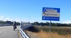 Cycling to Vadstena