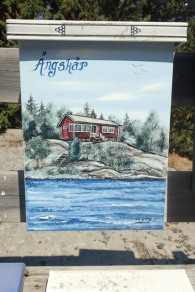 Letterbox painting