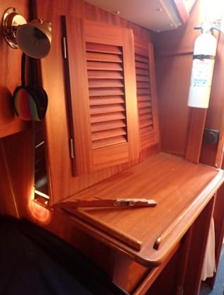 Damage to interior woodwork