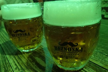 Beznoska Beer, Prague, 2019