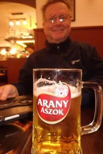 Arany beer, Hungary 2019