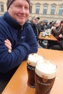 O'Hara and Guinness in Munich, 2019