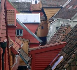 Rooftops of Bryggen