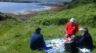 Picnic at Dunvegan